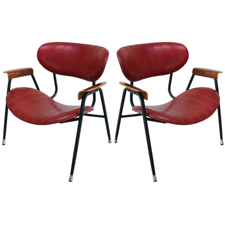 Pair Rima Armchairs For Sale
