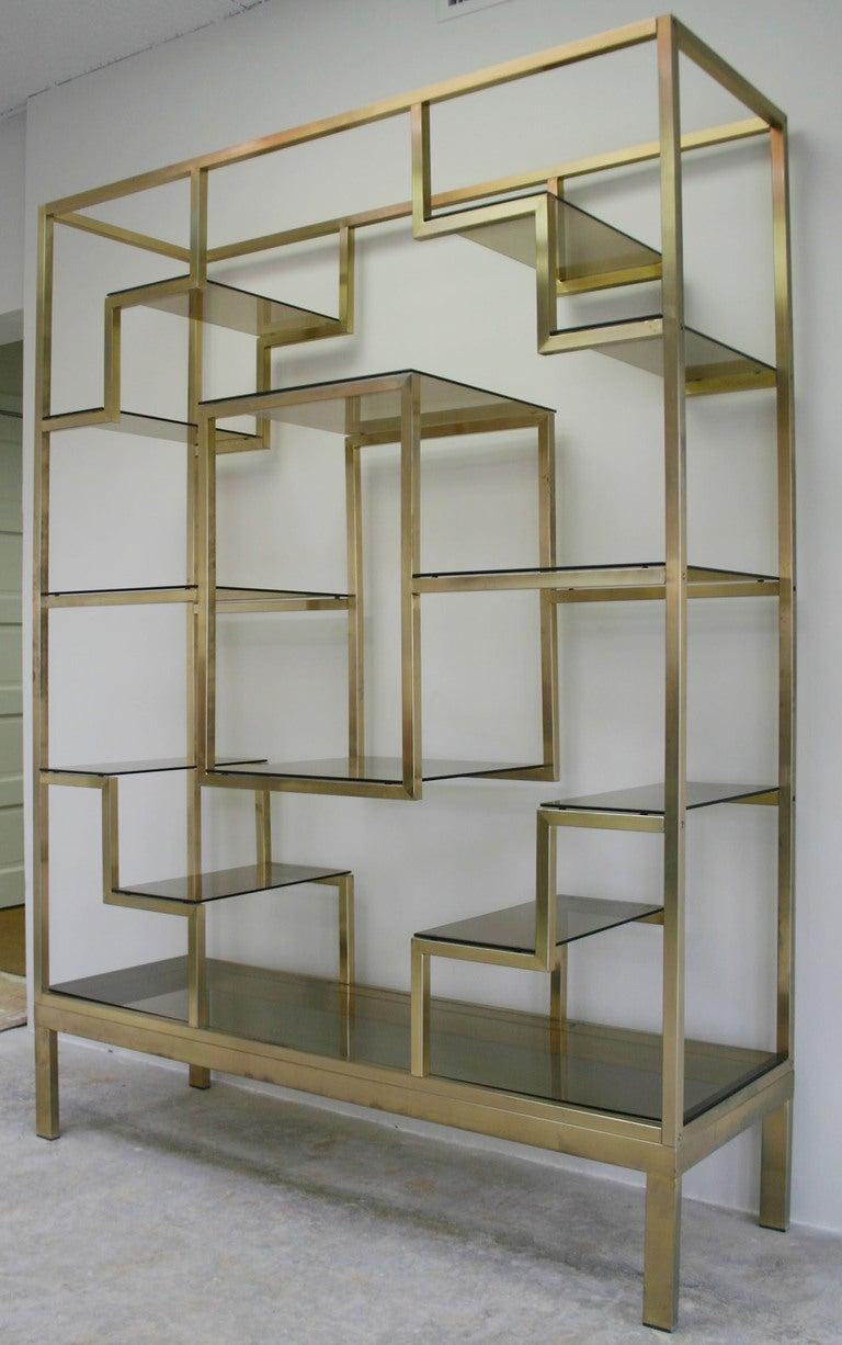 italian brass etagere image 2. Black Bedroom Furniture Sets. Home Design Ideas