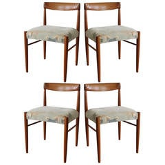 Set of Four Bramin Dining Chairs