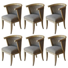 Set of Six Romweber Dining Chairs