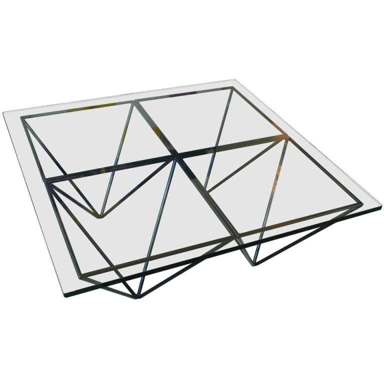 pyramid coffee table at 1stdibs