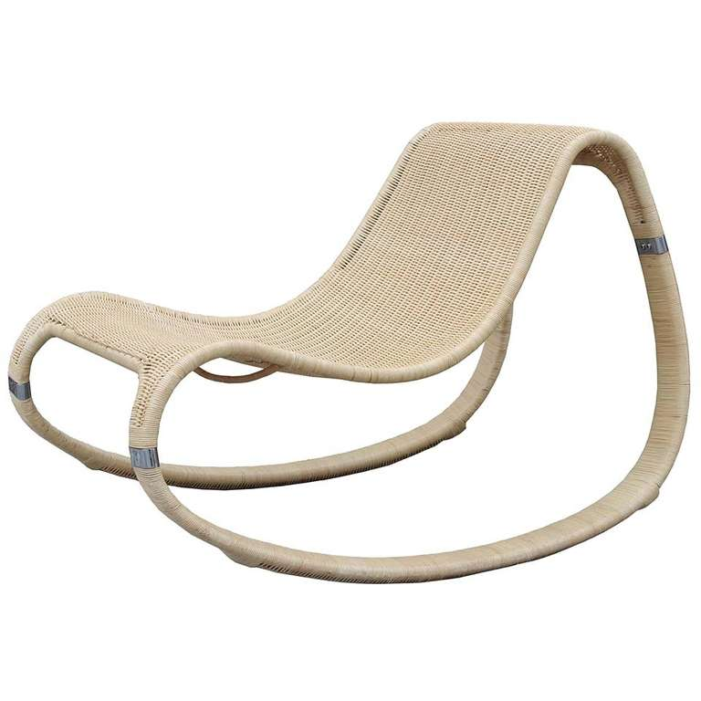 Ordinaire Rattan Rocking Chair For Sale