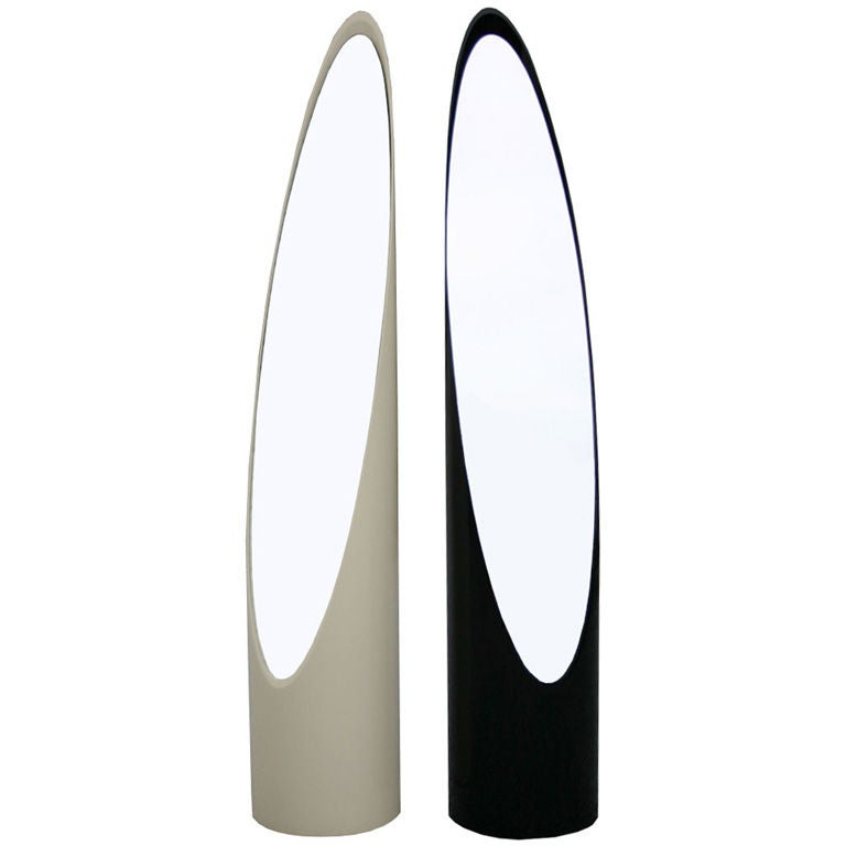 Black and White Roger Lecal Lipstick Mirrors