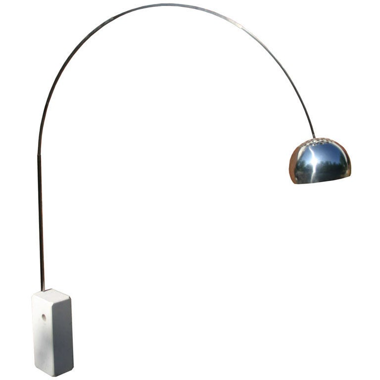 Flos Arco Floor Lamp At 1stdibs