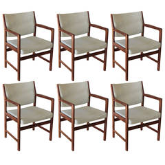 Set of Six Swedish Dining Chairs