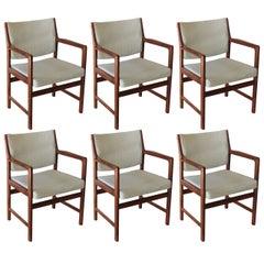 Set of Six Swedish Dining Chairs