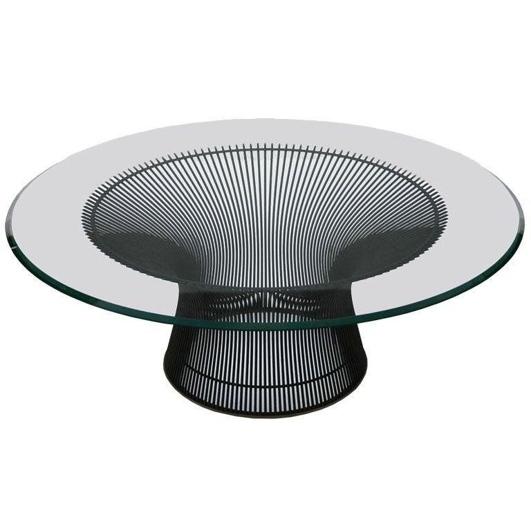 warren platner coffee table at 1stdibs