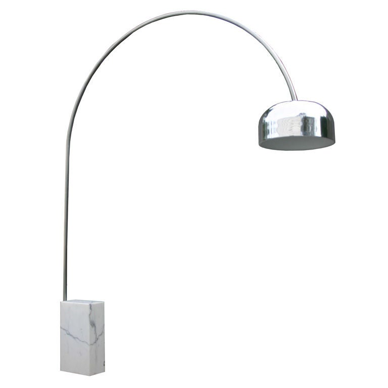 this chrome arc lamp is no longer available. Black Bedroom Furniture Sets. Home Design Ideas