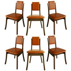 Angelo Mangiarotti Set of 6 Dining Chairs