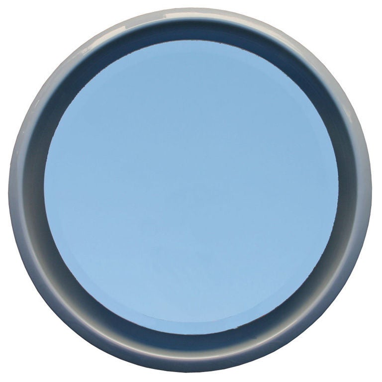 Porcelain Frame Mirror