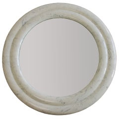 Custom-Made Marble Mirror