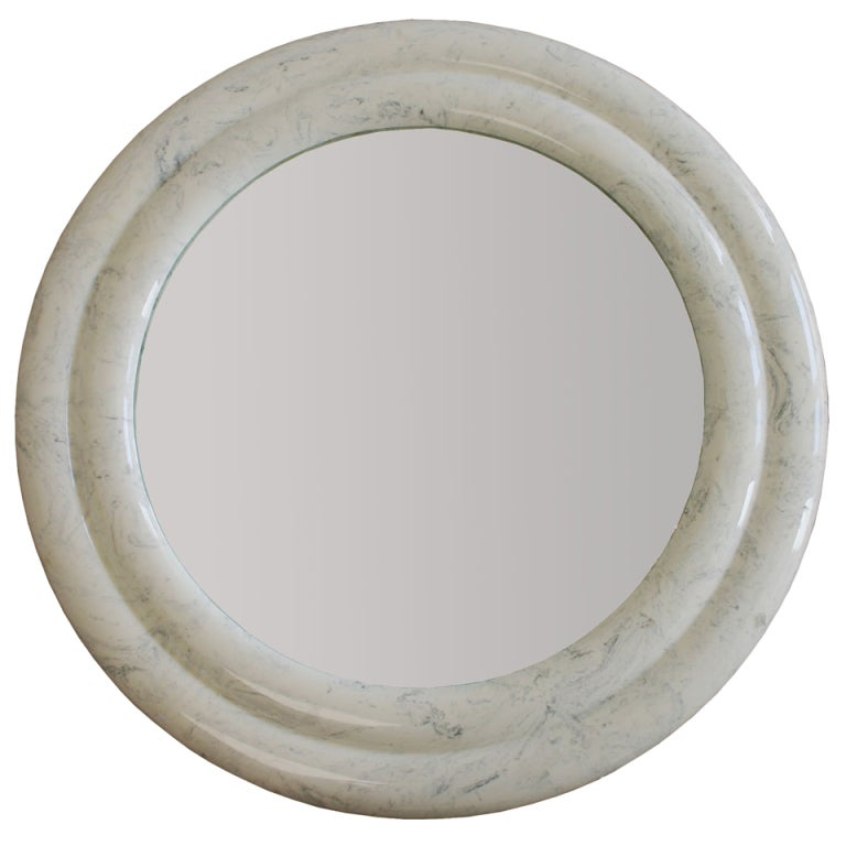 Custom made marble mirror for sale at 1stdibs for Custom made mirrors
