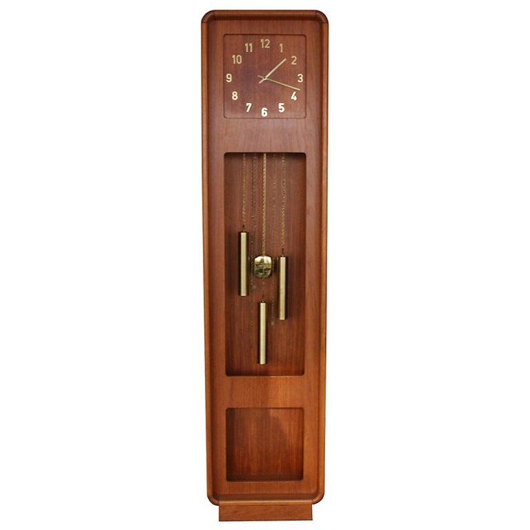 Danish Grandfather Clock At 1stdibs
