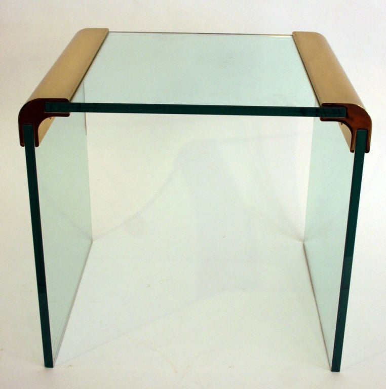Mid-Century Modern Pair Pace Side Tables For Sale