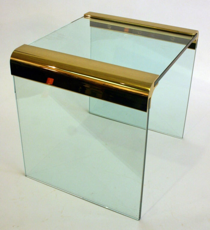 Italian Pair Pace Side Tables For Sale