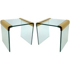 Pair Pace Side Tables