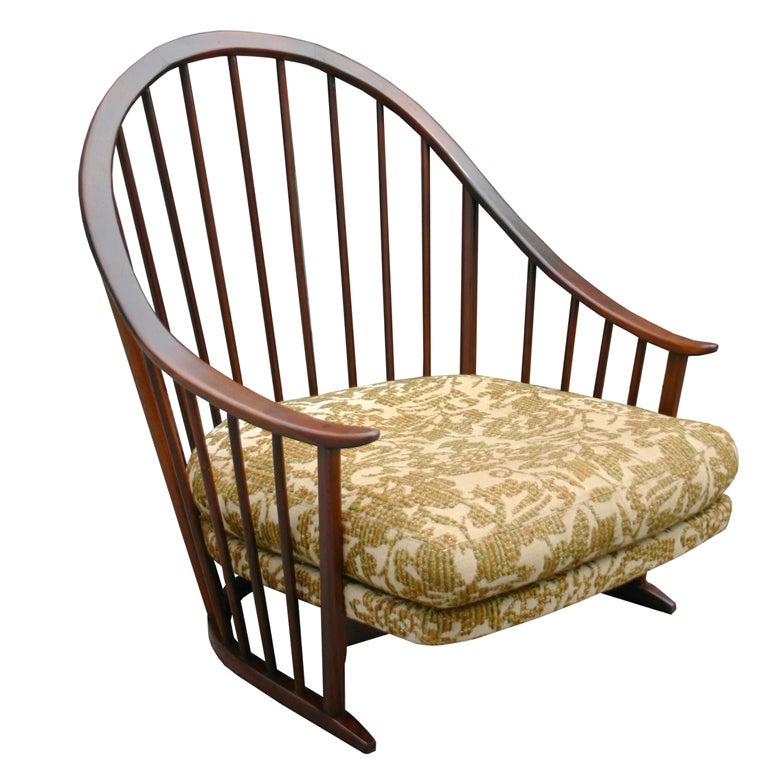 Milo Baughman Windsor Chair At 1stdibs