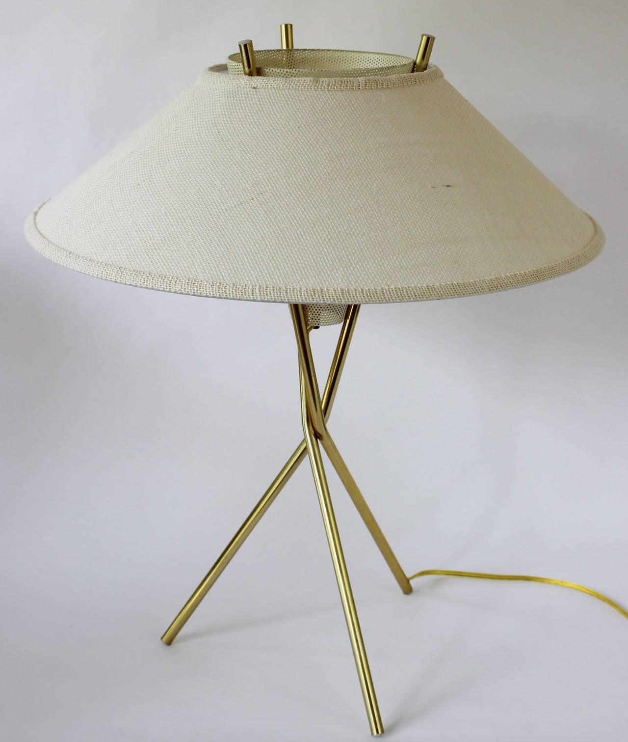 Pair gerald thurston tripod lamps at 1stdibs pair gerald thurston tripod lamps 3 geotapseo Gallery