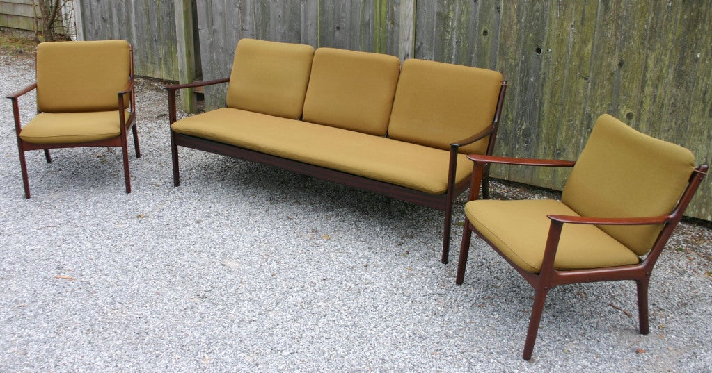ole wanscher sofa at 1stdibs. Black Bedroom Furniture Sets. Home Design Ideas