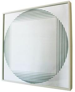 "Fontana Arte ""Brama"" Illuminated Mirror"