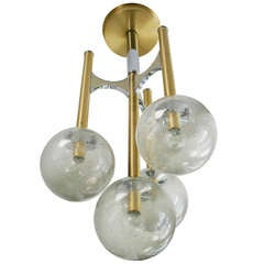 Sciolari Four Globe Pendant
