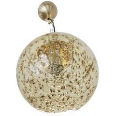 La Murrina Champagne Globe Pendant