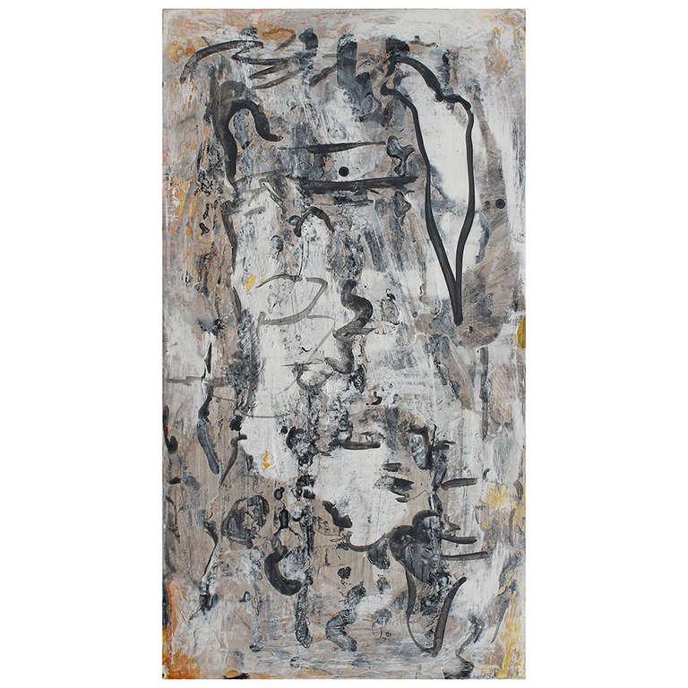 Painting by Bill Schefferine For Sale