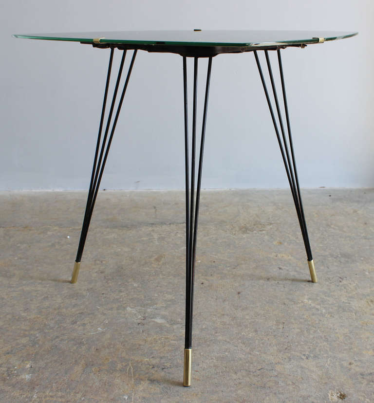 Mid-Century Modern Italian Side Table For Sale