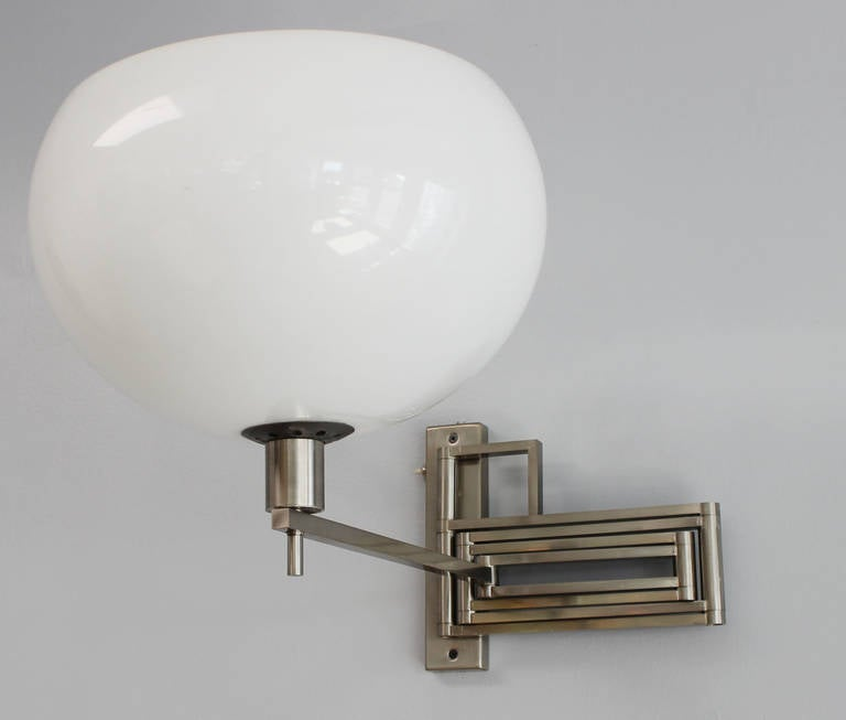 Wall Lamps Retractable : Reggiani Retractable Wall Light at 1stdibs