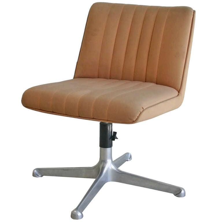 Borsani for Tecno Swivel Chairs