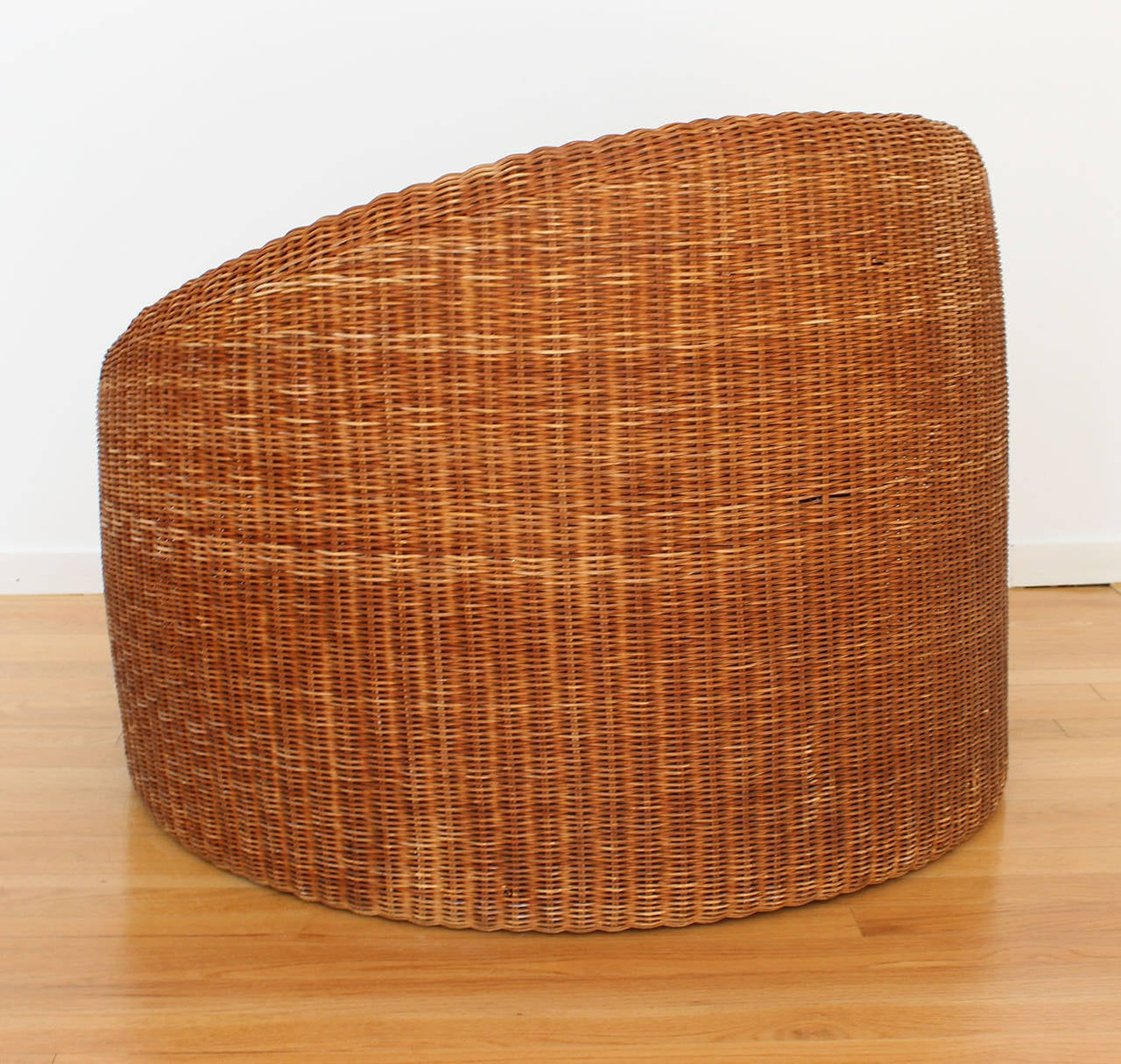 Eero Aarnio Rattan Chair In Good Condition For Sale In Southampton, NY