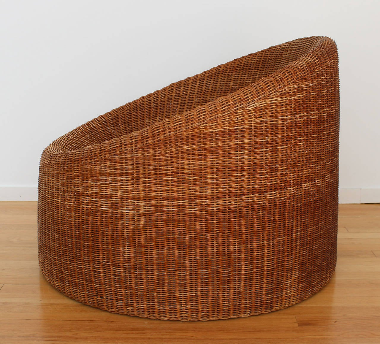 Finnish Eero Aarnio Rattan Chair For Sale