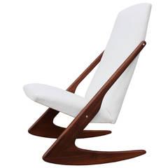 Mogens Kold Boomerang Rocking Chair
