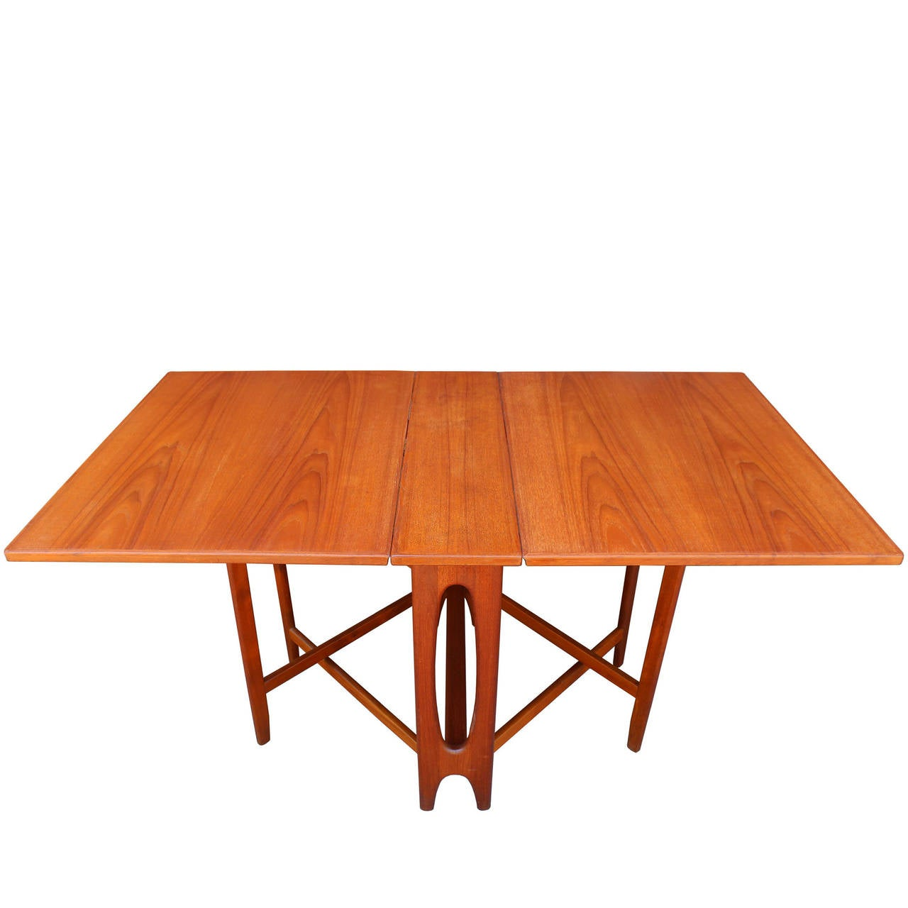 Drop Leaf Table Dining: Norwegian Drop Leaf Dining Table At 1stdibs