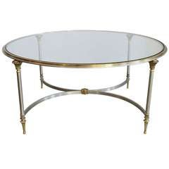 Regency Dual Metal Coffee Table