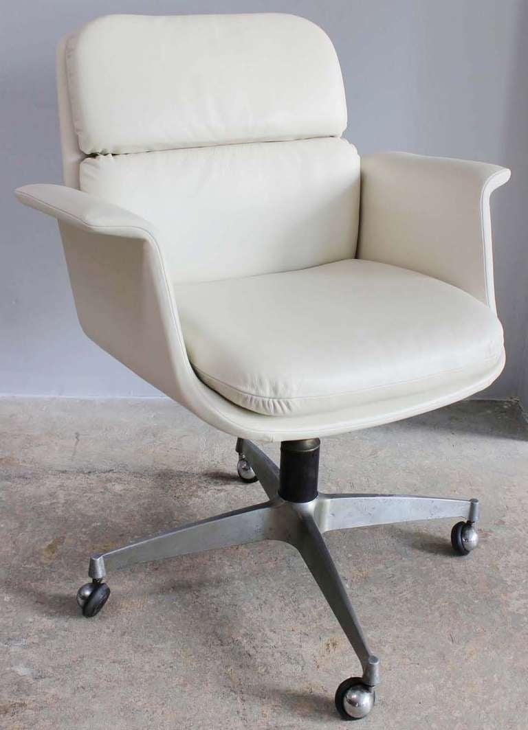 Italian Swivel Desk Chair at 1stdibs