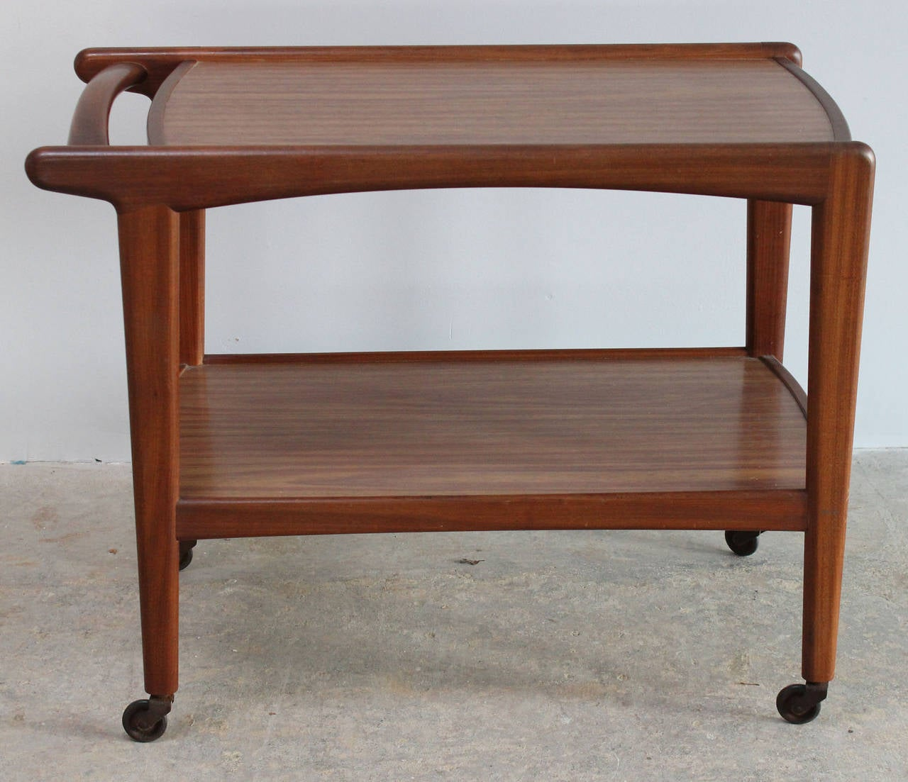 Mid-20th Century Danish Rolling Server For Sale
