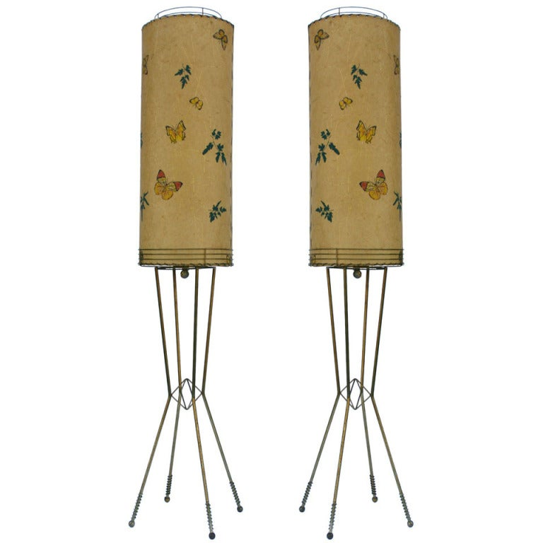 this pair tall cylinder lamps is no longer available. Black Bedroom Furniture Sets. Home Design Ideas
