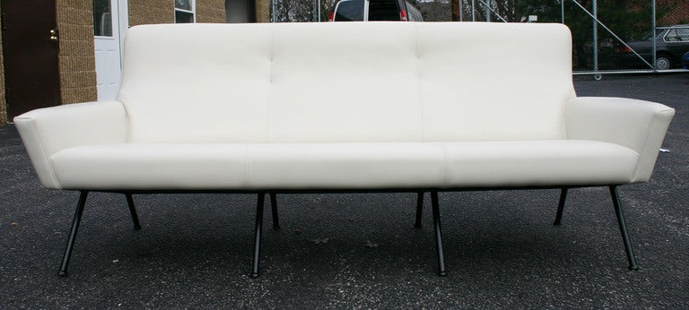 Italian Leather Sofa 3