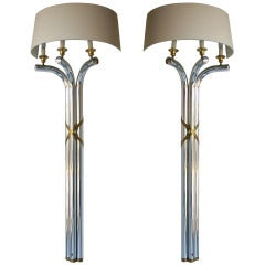 Pair Regency Style Wall Lamps