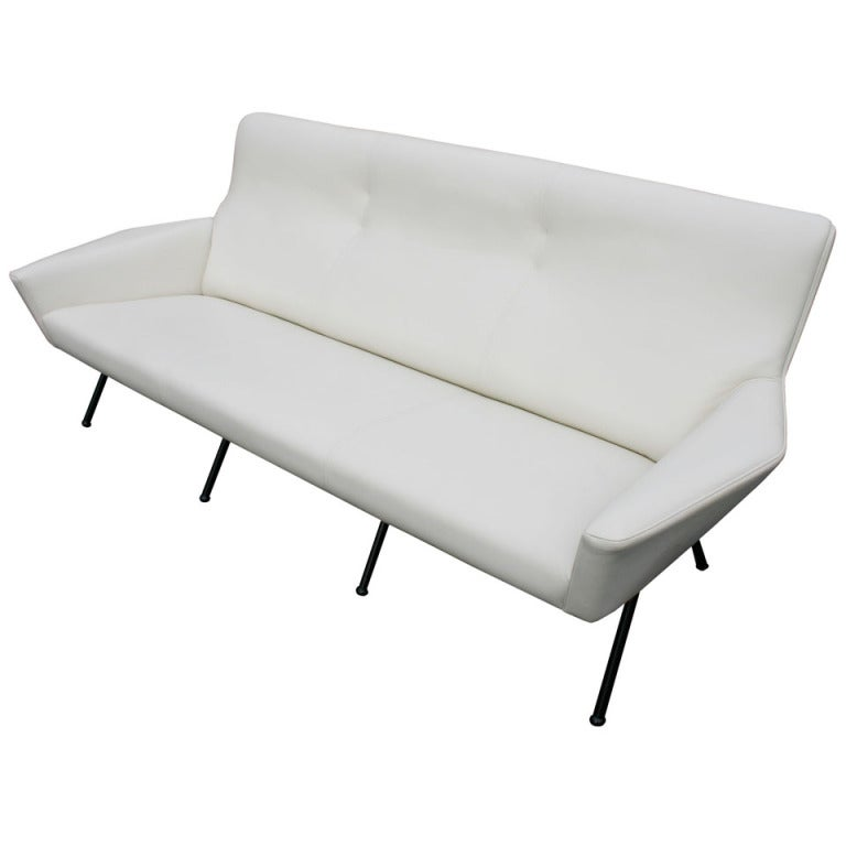 Italian Leather Sofa 1