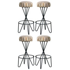 Paul Tuttle Swivel Stools