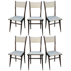 Six Carlo di Carli Style Dining Chairs