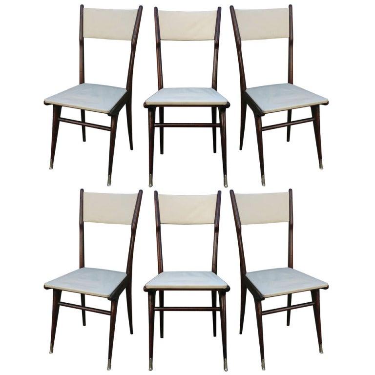 Six Carlo di Carli Style Dining Chairs