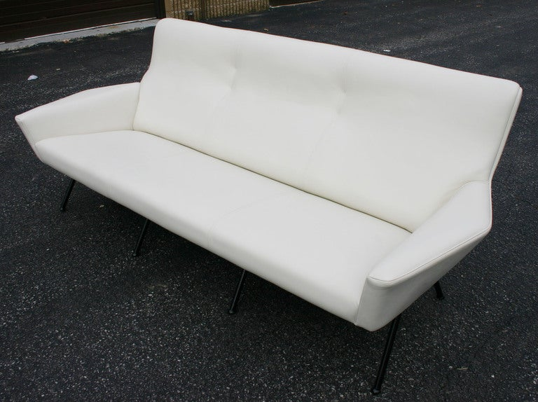 Italian Leather Sofa 2