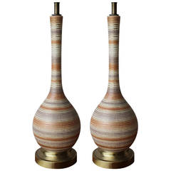 Pair of Raymor Lamps