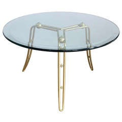 Italian Brass Star Table