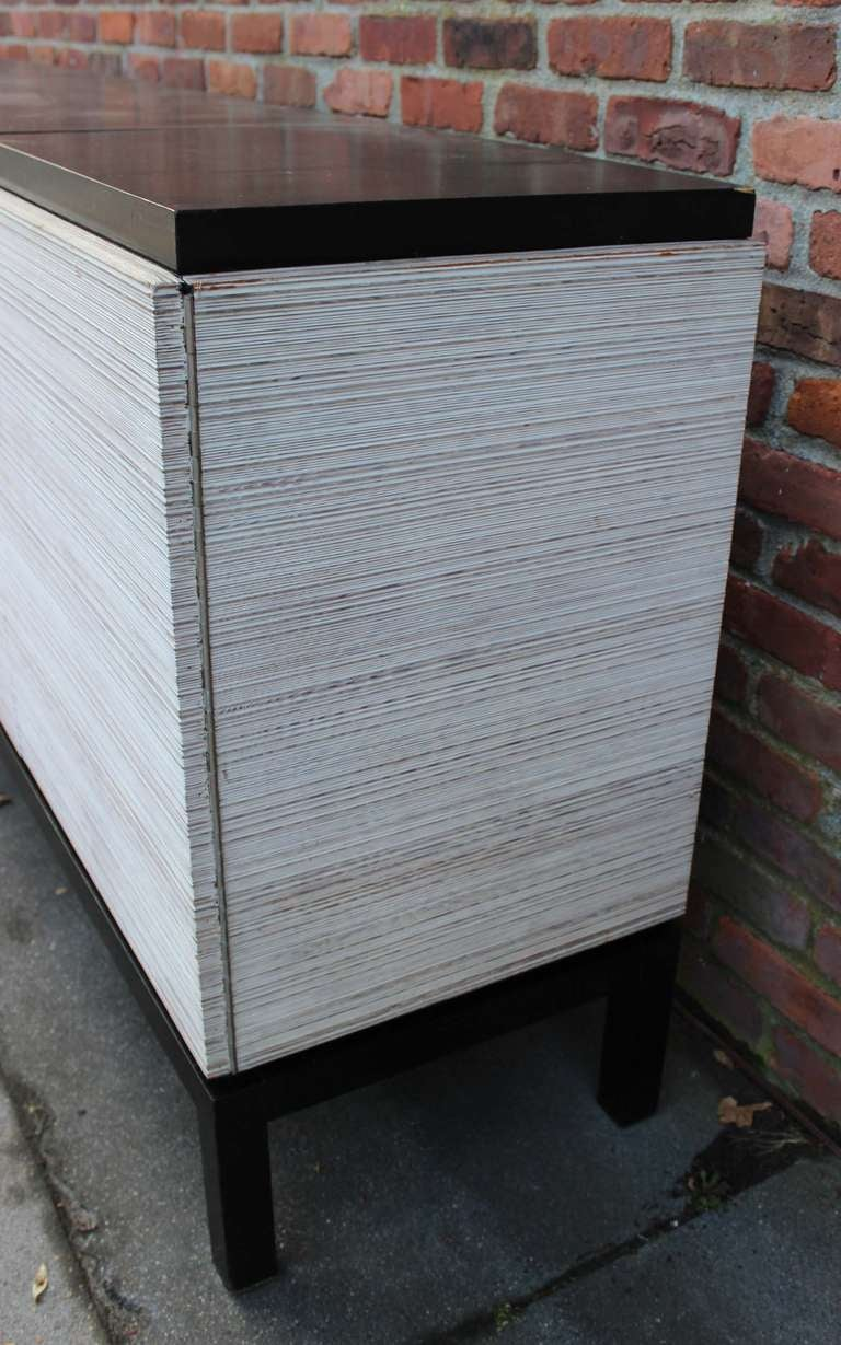 American Modern Stereo Bar Cabinet For Sale