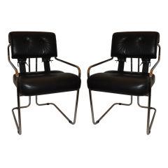 "Two ""Tucroma"" Chairs - Guido Faleschini - Pace"