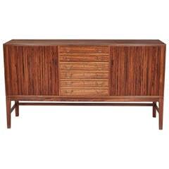 Ole Wanscher, Tambour Cabinet, Den, circa 1960s